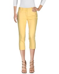 Yellow Capri Pants