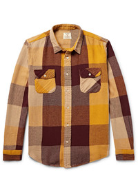 Levi's Vintage Clothing Shorthorn Checked Cotton Flannel Shirt
