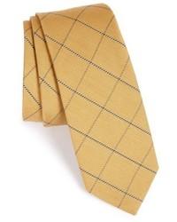 Yellow Check Tie