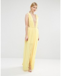 5bbed3eca1c0 Boohoo Petite Pleated Strappy Side Maxi Dress, $19 | Asos ...