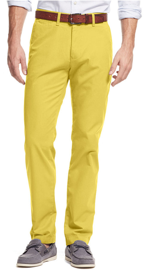 Tommy Hilfiger Custom Fit Chino Pants | Where to buy & how to wear