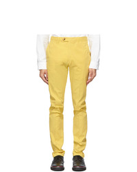 Ralph Lauren Purple Label Yellow Eaton Trousers