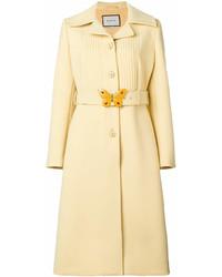 886ca94b5 Women's Yellow Coats by Gucci | Women's Fashion | Lookastic.com