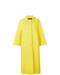 Sara Battaglia Oversized Single Breasted Coat