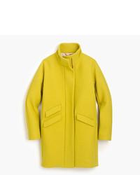 Petite cocoon coat in italian stadium cloth wool medium 5310861
