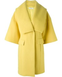 Versace Collection Oversized Lapel Coat