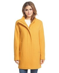 Wool blend stadium coat medium 366096