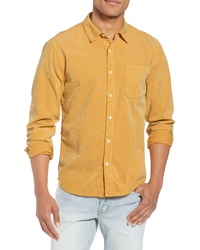 Frame Slim Fit Corduroy Shirt