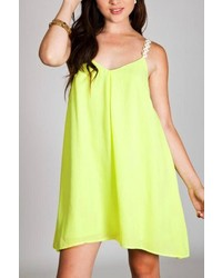 Umgee Neon Daisy Dress