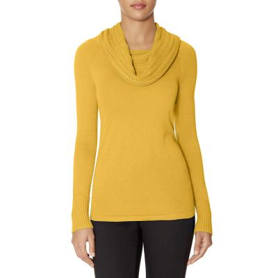 The Limited Textured Cowl Neck Sweater Yellow Xs | Where to buy ...