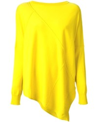 Yellow Crew-neck Sweater
