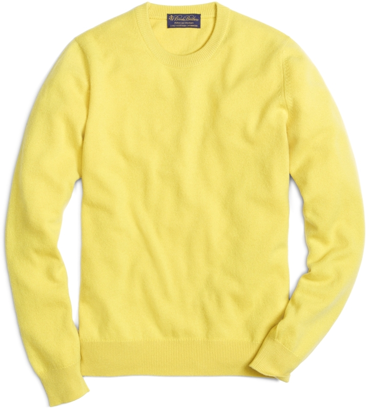 Brooks Brothers Cashmere Crewneck Sweater | Where to buy & how to wear