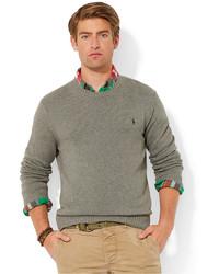 414ecc1b5241a ... Polo Ralph Lauren Cotton Crew Neck Sweater ...