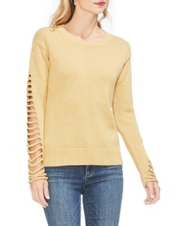 Vince Camuto Cutout Sleeve Sweater