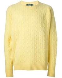 Drumohr Vintage Cable Knit Sweater 483 Farfetch Com Lookastic