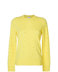 Barrie Frayed Knit Jumper