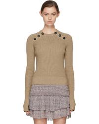 Etoile Isabel Marant Isabel Marant Etoile Yellow Koyle Sweater