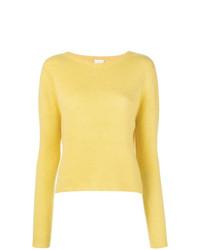 Alysi Jewel Neck Sweater