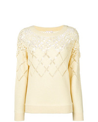 Chloé Open Knit Sweater