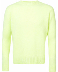 The Elder Statesman Simple Crew Neck Sweater