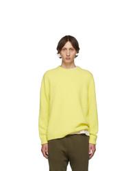 Tibi Yellow Airy Sweater