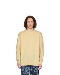Loewe Yellow Anagram Sweater