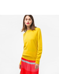 Paul Smith Yellow Cashmere Sweater