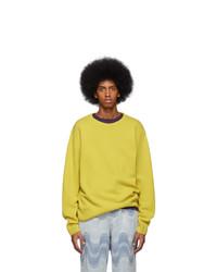 Dries Van Noten Yellow Naples Sweater