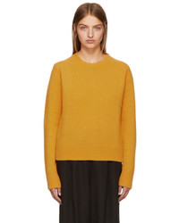 Studio Nicholson Yellow Wool Cashmere Sweater