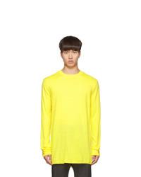 Comme Des Garcons SHIRT Yellow Wool Gauge 14 Sweater