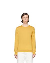 Lanvin Yellow Wool Sweater