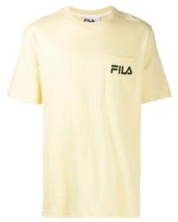 Fila Contrast Logo T Shirt
