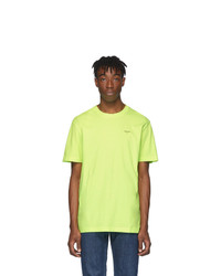 Off-White Yellow Arrows T Shirt