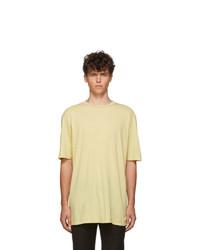 Haider Ackermann Yellow Awuna Dye T Shirt