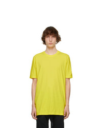 11 By Boris Bidjan Saberi Yellow Basic T Shirt