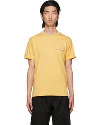 Comme Des Garcons SHIRT Yellow Logo T Shirt