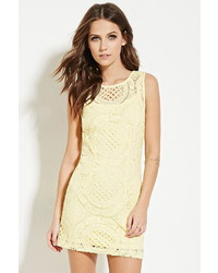 Forever 21 Crochet Mini Dress