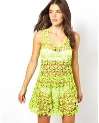 Seafolly Bandit Cotton Crochet Dress