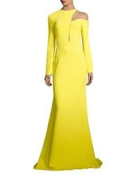 Shoulder cutout gown medium 3733240