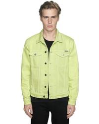 Calvin Klein Jeans Neon Cotton Denim Jacket