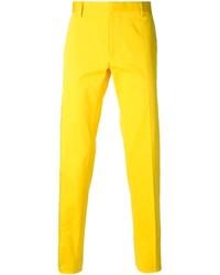 Mens Yellow Dress Pants