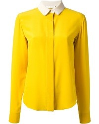Chloé Contrast Collar Shirt