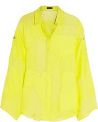 Versace Devor Silk Blend Shirt