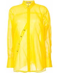 Nehera Asymmetric Buttoned Shirt
