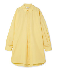 Maison Margiela Oversized Cotton Poplin Shirt