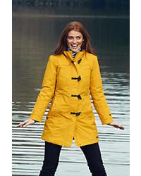 Yellow Duffle Coat