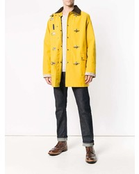 separation shoes 30528 948d6 Yellow Duffle Coats for Men | Men's Fashion | Lookastic.com