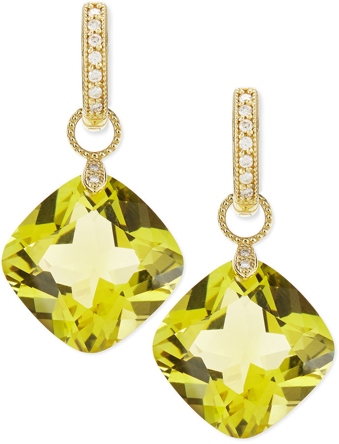 adolph products designyard citrine earrings lemon silver brigitte