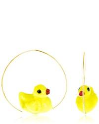 Nach Baby Duck Earrings