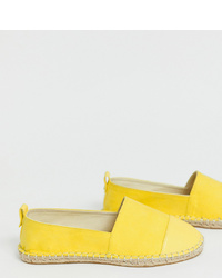 ASOS DESIGN Wide Fit Jacey Espadrilles